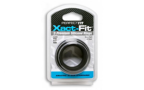 Xact-Fit Silicone Rings Mixed