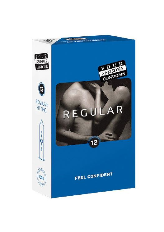 Four Seasons Regular Condoms 12 Pack