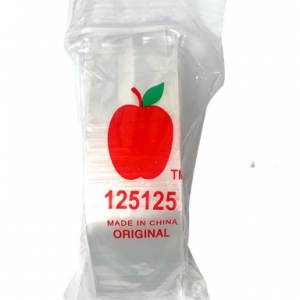 Apple Mini Ziplock Bags 125125